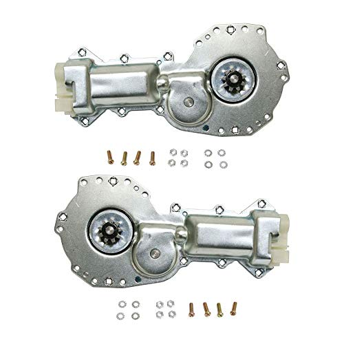 Window Motor Set of 2 Front w/9-teeth gear for Chevy Astro/Safari 85-05 Right And Left Front W/ 9 Teeth