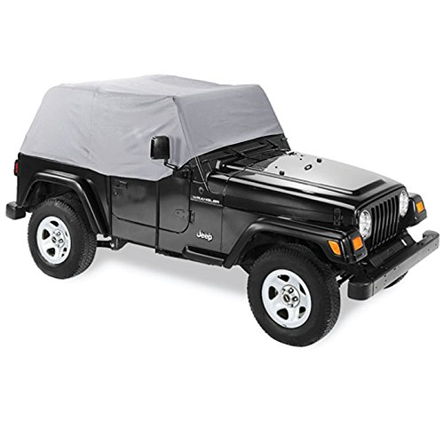Pavement Ends by Bestop 41729-09 Charcoal Canopy Cover for 1997-2006 Wrangler TJ (except Unlimited)