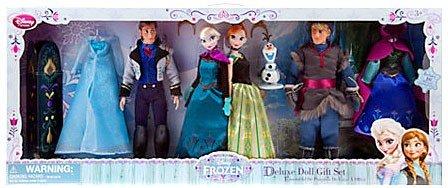 Disney Frozen 12 Inch Doll Set Deluxe Doll Gift Set (Best Of Jack Frost)