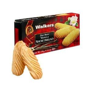 Walkers Shortbread Vanilla 5.3 OZ (Pack of 12)