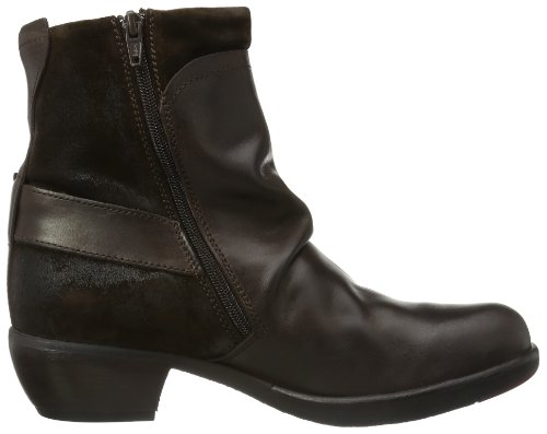 para Mel Botas Mujer Fly Marrón Dk London Camperas Brown w5qEARI