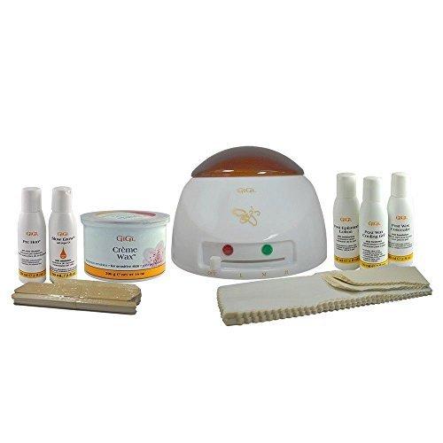 GiGi Mini Pro Complete All-Purpose Hair Removal System Starter Mini Waxing Kit