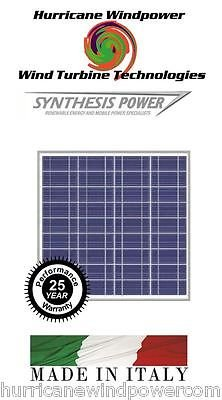 Best Cheap Deal for 50W 12V Poly-Crystalline Solar Panel 50 Watt 12 Volt Off Grid RV Boat Marine from Hurricane Wind Power/Synthesis Power - Free 2 Day Shipping Available