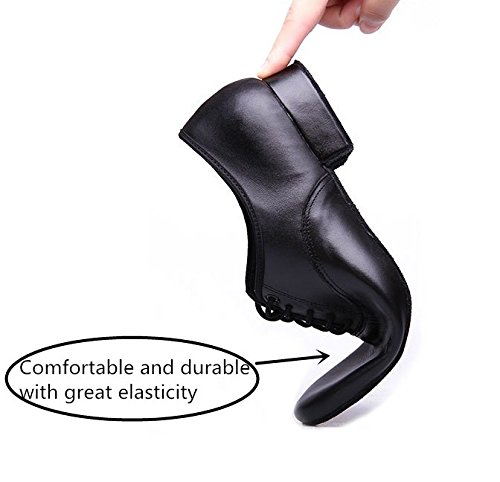 Pictures of BeiBestCoat Black Modern Outdoor Dancing Shoes Lace- 4