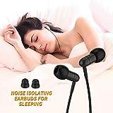 in-Ear Earbuds for Sleeping, Mijiaer Noise Isolating Headphones Sleep Earbuds with Soft Earplugs