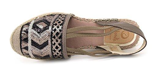 Oro Nero Sandals Fashion Women's Panna Vidorreta wUqCzn