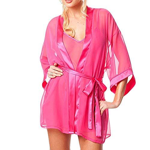 Amazon.com: DDLmax Women Sexy Lingerie Set Babydoll Sleepwear Underwear Bath Robe Nightwear: Clothing