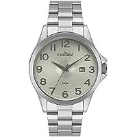 Relógio Condor Masculino Casual Prata Co2115ktv/3v
