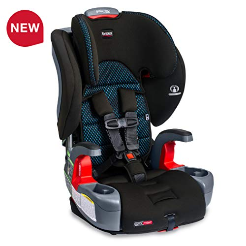 Britax Grow with You ClickTight Harness-2-Booster Car Seat - 2 Layer Impact Protection - 25 to 120 Pounds, Cool Flow Teal [Newer Version of Frontier]