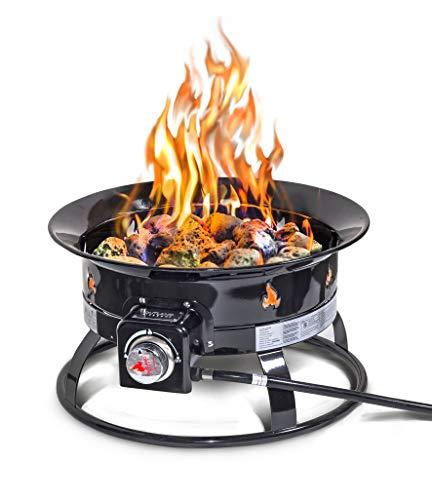 Outland Firebowl 893 Deluxe Outdoor Portable Propane Gas ... on Outland Firebowl Propane Fire Pit id=63657