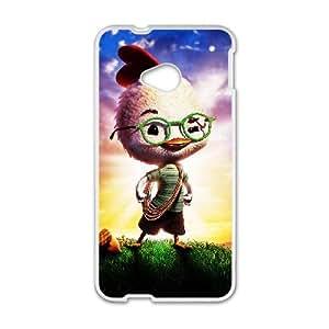 Chicken Little HTC One M7 Cell Phone Case White P6686091
