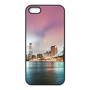 Beautiful bridge night scenery Diy For Touch 5 Case Cover (PC)