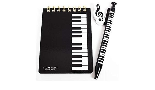 Small Stationery Kit - Black Keyboard Design
