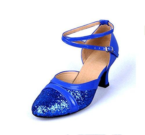 Blue donna ballo da Scarpe Meijili wqtvXIP