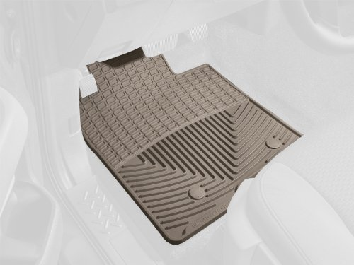WeatherTech Floor Mats, Front Rubber, Explorer 02-03, Tan for Select Ford/Mercury/Lincoln - Ford San Tan
