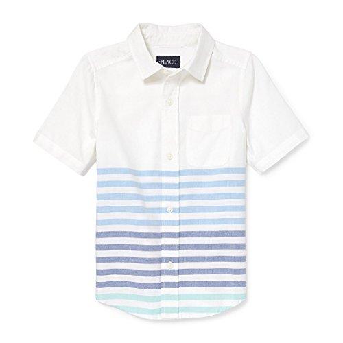پیراهن یکنواخت آستین کوتاه پسرانه محل بچه ها