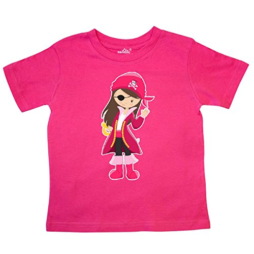 inktastic - Pirate Captain Toddler T-Shirt 4T Hot Pink for $<!--$14.99-->