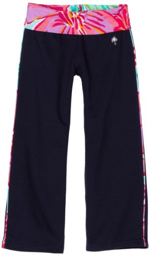 Price comparison product image Lilly Pulitzer Big Girls' Zoe Pant,  True Navy,  14