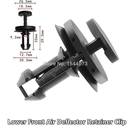 Fastener & Clip 30X Air Dam Deflector Valance Front Bumper Clips for Chevy Avalanche Silverado 1500 2500 ()