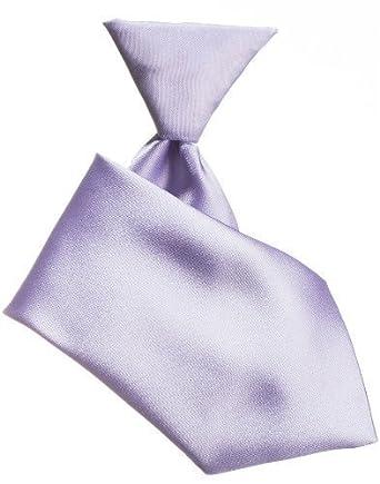 Baby Boys Lilac Tie Boys Lilac Elasticated Tie Boys Formal Ties
