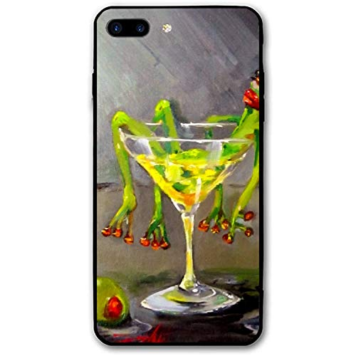 Drunk Frog Printed iPhone 8 Plus/ 7 Plus Cover Shockproof Hard PC Compatible for iPhone 8 Plus/ 7 Plus Case 5.5