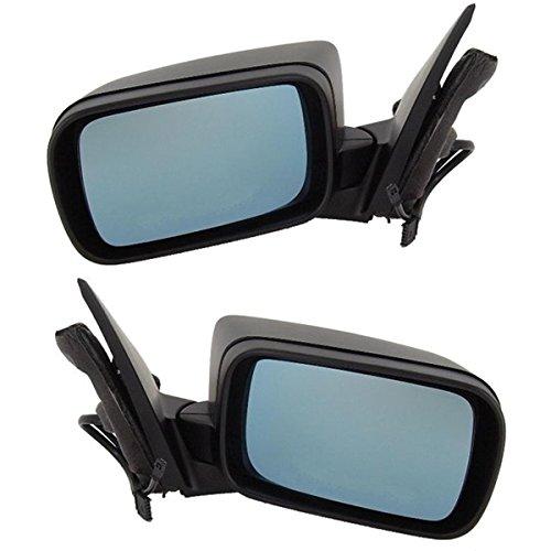 Koolzap For 99-06 BMW 3-Series 4-Door Power Heat w/o Memory Mirror Left Right Side SET PAIR Bmw 325i Mirror Folding