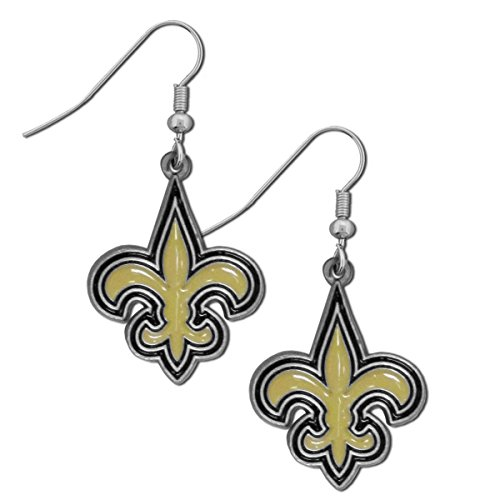NFL New Orleans Saints Dangle Earrings Football Merchandise