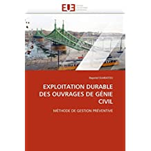 EXPLOITATION DURABLE DES OUVRAGES DE GENIE CIVIL