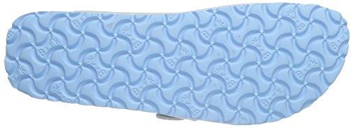 Birkenstock Arizona Birko-Flor Plateau - Sandalias Mujer Azul - Blau (Graceful Babyblue)