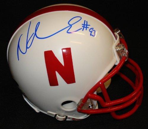 Ndamukong Suh Autographed Nebraska Cornhuskers Mini-Helmet