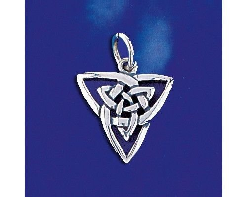 Sterling Silver Celtic Knot Pendant Keltic Ireland Classic Charm 925 New - Silver Jewelry Accessories Key Chain Bracelet Necklace Pendants