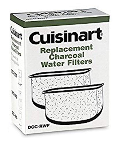 Cuisinart Replacement Charcoal Water Filters (Set of 2) - Dcc Filter Cuisinart 1200 Water