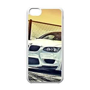 White Bmw M3 Iphone 5C Cell Phone Case White 218y-016839