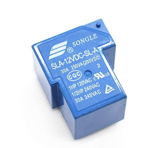 /C 5/pieza 12/V 24/V Rel/é Power Relays 4PIN 30/A T90/Potencia Rel/é PCB tipo SLA de 12/V 24/VDC de SL-BD20/a/