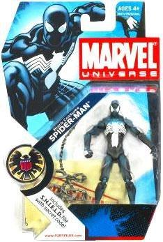 "Marvel Universe 3 3/4"" Series 3 Action Figure Black Spider-M"