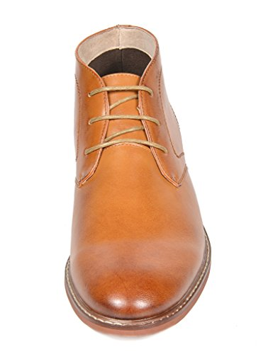 Mens Bruno Boots Dress Brown Ankle Oxfords Bergen Lined Leather Pu 02 Marc zHzOr4A