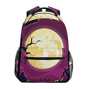 DXG1 - Zaino spaventoso per Halloween, per donne e uomini, ragazzi, borsa per la scuola, zaino da viaggio, università… 20 spesavip