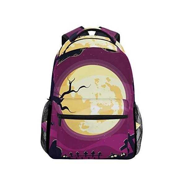 DXG1 - Zaino spaventoso per Halloween, per donne e uomini, ragazzi, borsa per la scuola, zaino da viaggio, università… 1 spesavip