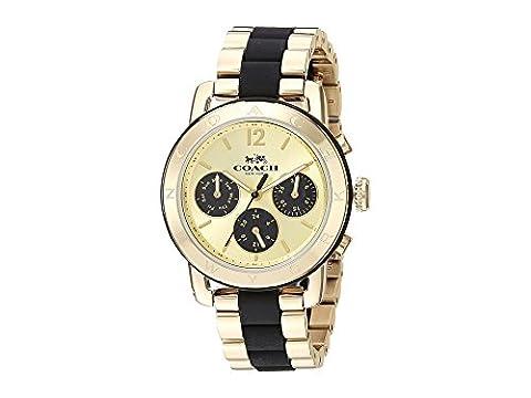 COACH Women's Legacy Sport Gold Watch (Coach Women Gold Watch)