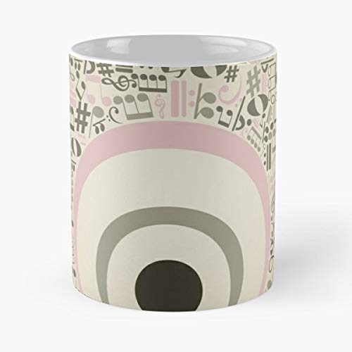 Border Broken Collection Environment - White -coffee Mug- Unique Birthday Gift-the Best Gift For Holidays- 11 Oz.