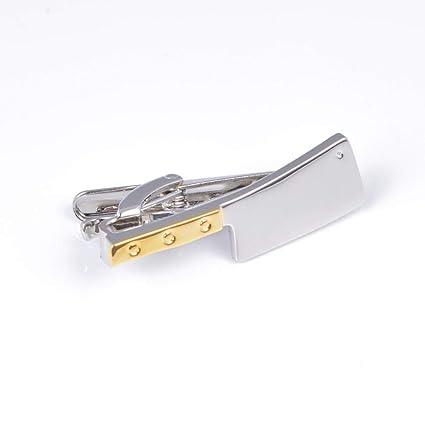 SKYyao Pasadores de Corbata Clip Divertido Cuchillo de ...