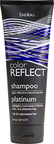 Shikai Color Reflect Platinum Shampoo, 8-Ounce Tubes (Pack of 3)