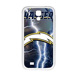 DAZHAHUI San Diego Chargers Cell Phone Case for Samsung Galaxy S4