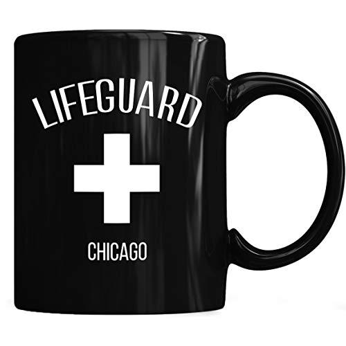 Lifeguard Chicago Mug, Lifeguard Chicago Mug Coffee Mug 11oz & 15oz Gift Black Tea Cups