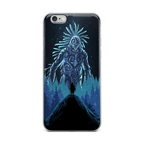 iPhone 6 Plus/6s Plus Case Anti-Scratch Japanese Comic Transparent Cases Cover The Night Spirit Anime & Manga Graphic Novels Crystal Clear ()