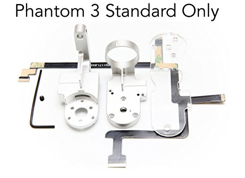 Fstop Labs Replacement for DJI Phantom 3 Standard Gimbal Yaw, Roll Arm, Ribbon Cable, Screw