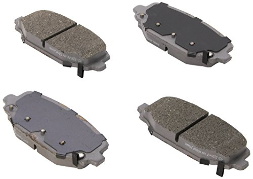 ACDelco 14D1596CH Advantage Ceramic Rear Disc Brake Pad Set
