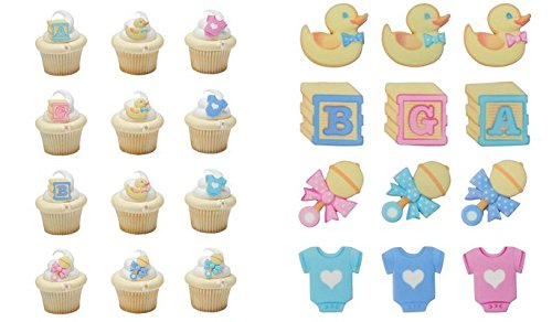 baby shower cupcake papers - 3