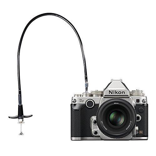 Foto&Tech 100cm Mechanical Shutter Release Cable w/ Bulb-Lock for Nikon Df/ F80/ F4/ FM2/ F3 / FE/FM3a, Fujifilm X10 / X100 / X-PRO1 / X-E1/DF-1, Leica M6 / M8 / AE-1, Minolta SRT-200 FotoTech Threaded Cable-100CM