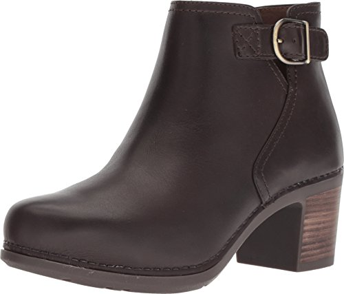Chocolate Burnished Leather - Dansko Women's Henley Boot Chocolate Burnished Calf Size 36 Regular EU